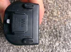 Nintendo Wii Motion Plus Adapter Black