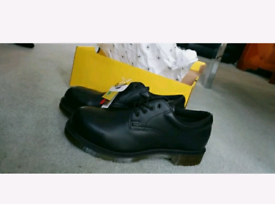 Dr Martens Steel toe cap boots, Size 8.