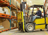WAREHOUSE - SHIPPING & RECEIVING - $15.00/hr