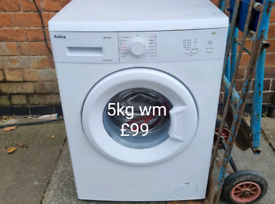 Amica 5kg washing machine free delivery in Leicester