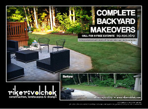 riker:volchok Landscapes - Decks, Interlock, Garden, Sod & more Cambridge Kitchener Area image 4