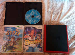 Wii mini with no cords, 3 games