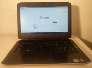 "Black Dell laptop 14"" screen 3rd gen i5 with new SSD"