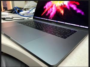 15 MAXED MacBookPro TOUCHBAR QUAD 16/i7/2.7/512gbSSD Applecare19