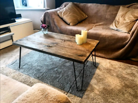Coffee tables / TV units rustic reclaimed Read description