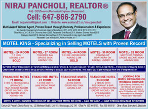 Motels for Sale - Northern Ontario (north of Timmins) - under 1M