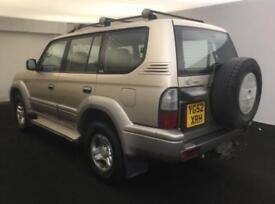 2002 TOYOTA LANDCRUISER COLORADO 3.0 D-4D AUTO 8 SEATER + LEATHER 2 OWNERS