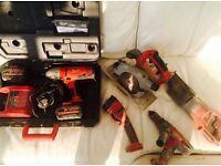 Milwaukee V28 - Cordless tools set
