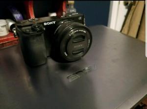 SONY ALPHA A6000 W/16-50MM LENS (BLACK)