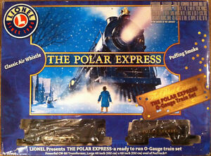 """Train électrique de luxe """"The Polar Express"""" Lionel # 6-31960"""