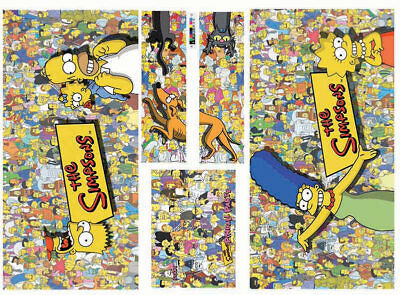 The Simpsons Pinball Party Pinball Machine Cabinet Decals - NEXT GEN