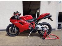 Ducati 848 - Full Termignoni System - Datatool - Pazzo (Not GSXR, R6, CBR600, ZX6R)