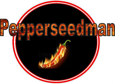 #6 SuperHot Pepper Seed Collection- Carolina Reaper,Choc Hab,Naga Viper,7 More! for sale  Anna