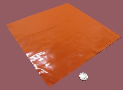 """55 durometer High Temp FDA 12/"""" x 12/"""" Gray Silicone Rubber Sheet 1//32/"""" thick"""