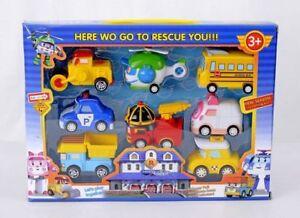 New Robocar Poli Transformation Robot Car Toys South Korea Thomas Kids Set