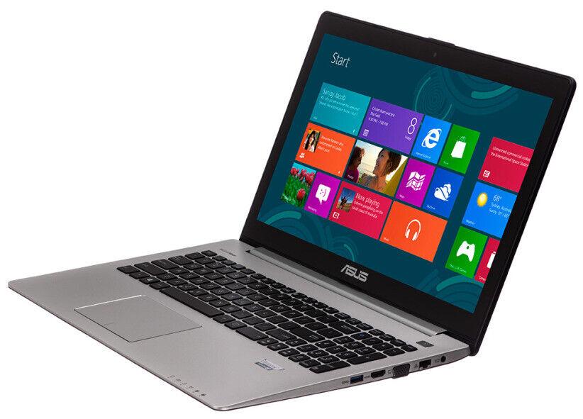 Laptop Windows - Asus Vivobook S500C Laptop, Intel Core i3-2365m, 8gb RAM, 240gb SSD, Windows 10