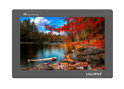 "Lilliput FS7 7"" Camera-Top Broadcast Monitor with  4K HDMI 3G-SDI Camcorder DSLR"