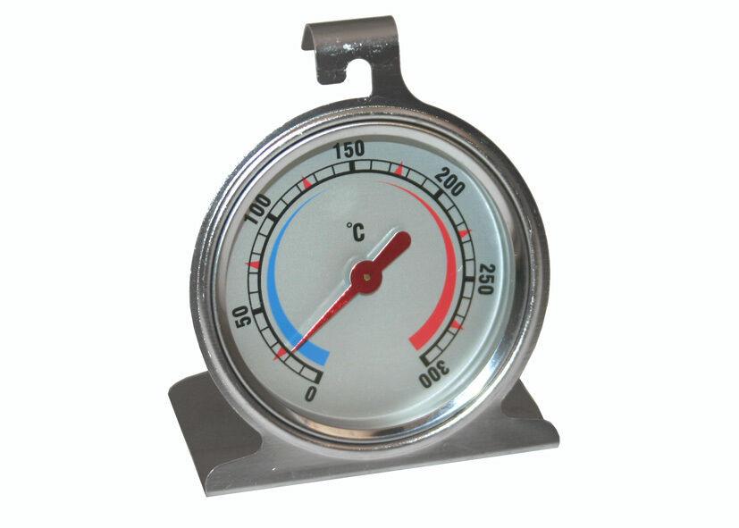 Termometro per interno forno Eva in acciaio inox da 0° a 300° C gradi - Rotex