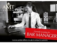 AMT Coffee Ltd - York - Bar Manager