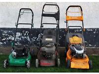 3 Petrol Lawnmower Mountfield-Partner-Garden Line Lawn Mower For Spares/Repair