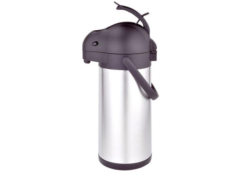 Thermos acciaio inox caraffa con pompa airpot litri 3,0  freddo caldo - Rotex