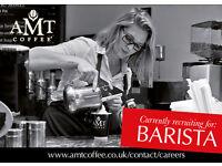 AMT Coffee Ltd - Barista - Stevanage