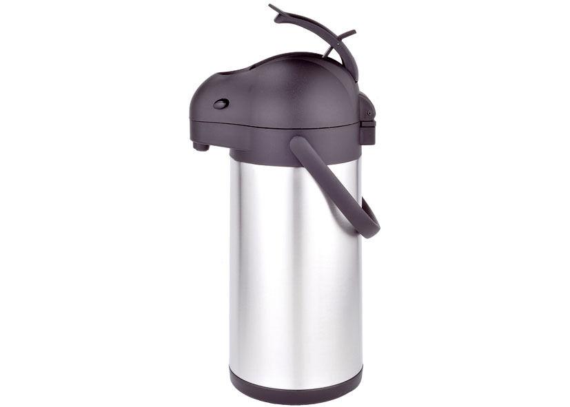 Thermos acciaio inox caraffa con pompa airpot litri 2,5 freddo caldo - Rotex