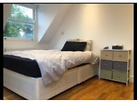Light, Spacious double room to rent in West Hampstead. RENT INCLUDES ALL BILLS ETC