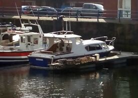 Sea Master 27'x 9'6,2/3 berth,fishing /plesure /river /sea boat