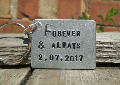 FOREVER & ALWAYS Special Anniversary Gifts For Him Her PERSONALISED Aluminium ()