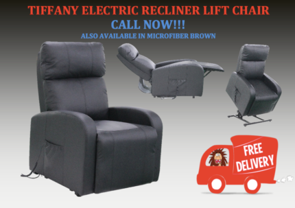 Affordable and Compact Tiffany ELECTRIC LIFT RECLINER CHAIR