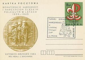 Poland postmark ZAKLIKOW - scouting - <span itemprop=availableAtOrFrom>Bystra Slaska, Polska</span> - Poland postmark ZAKLIKOW - scouting - Bystra Slaska, Polska