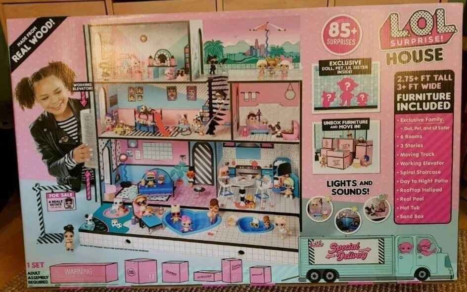 Lol Surprise Dolls House Playset Bnib In Hand Argos Cash