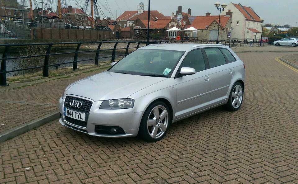2007 56 audi a3 2 0 tdi sportback s line 170 fsh in hartlepool county durham gumtree. Black Bedroom Furniture Sets. Home Design Ideas