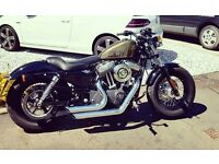 Harley Davidson forty eight 48...stage 1 vance and hines