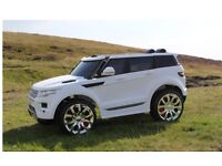 Range Rover Style HSE, 12v, Parental Remote Control Opening Doors music & lights.