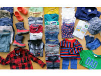 Boys clothes/shoes bundle approx 3 yrs - M&S,Crocs,Next,Debenhams,Tu,George...loads!