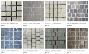 LOOKING FOR COBBLESTONE TILES? SIMPLE SYDNEYTILEGALLERY.COM.AU