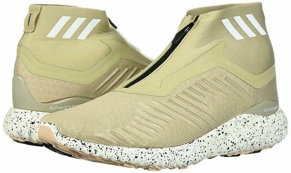 adidas DA9949 Mens Tan Alpha bounce Zip M Running Shoes $120