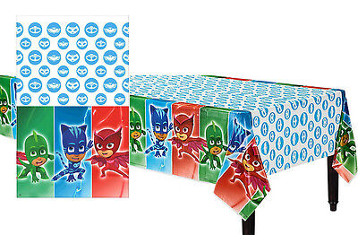PJ Masks Plastic Table Cover Birthday Decorations Party Supplies Pajama Heroes