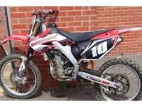 Honda crf 250r 2008 motocross £1100ovno