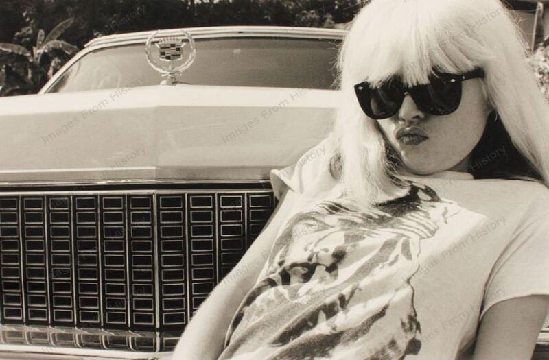 8x10 Print Debbie Harry Blondie 1975 #DH28