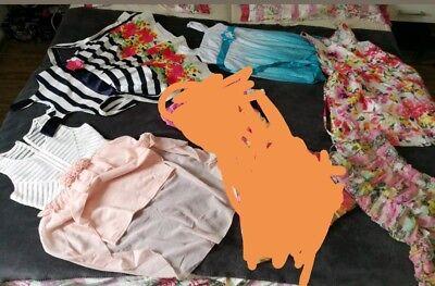 ❤Kinder kleid für Mädchen 5 Teile Neu und wie neu Kleider 140 146 152 10 12 ❤
