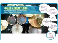 DRUMS LESSONS - GRADE 8 TUTOR