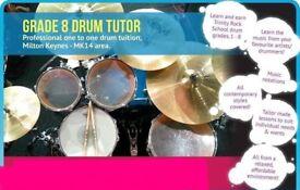 Drum Lessons - Grade 8 Tutor