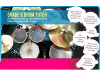 Drum Lessons - Grade 8 Tutor