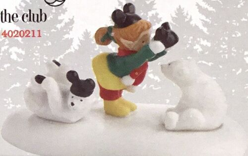 Dept 56 Disney WELCOME TO THE CLUB 4020211 NORTH POLE Village Department 56 NEW
