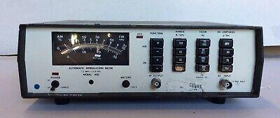 Wavetek 4101 Automatic Modulation Meter 2ghz