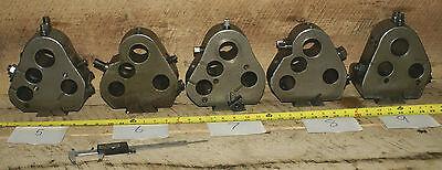 Warner Swasey M-3060 Dovetail Multi Holder Metal Lathe 2 - 1 12 Boring Ws