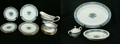 Lenox Autumn Replacement Dinnerware Pieces & Accessories Gold and Black Stamped